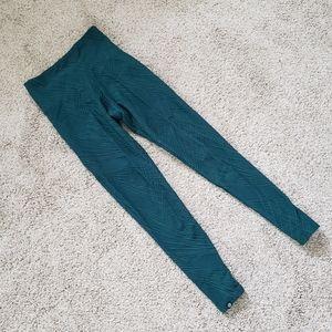 Onzie textured netted leggings
